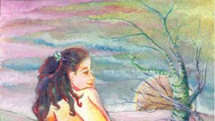 Arte y discapacidad — Cuadro de Melina Fatsiou-Cowan: http://www.disabilityculture.org/melina/