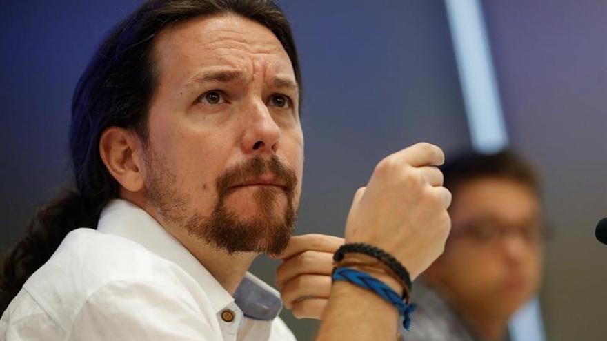 Iglesias dice que si el PSOE quiere puede haber un Gobierno diferente al PP