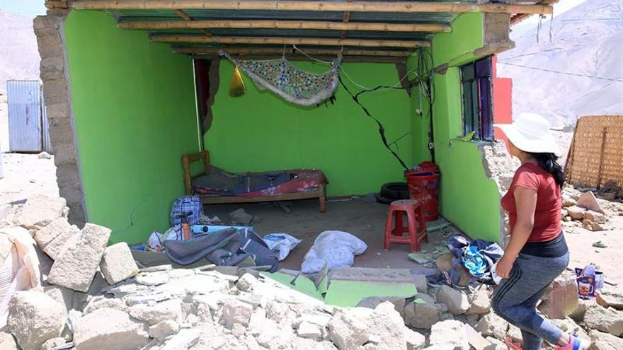 A 104 se eleva el número de heridos por el terremoto al sur de Perú