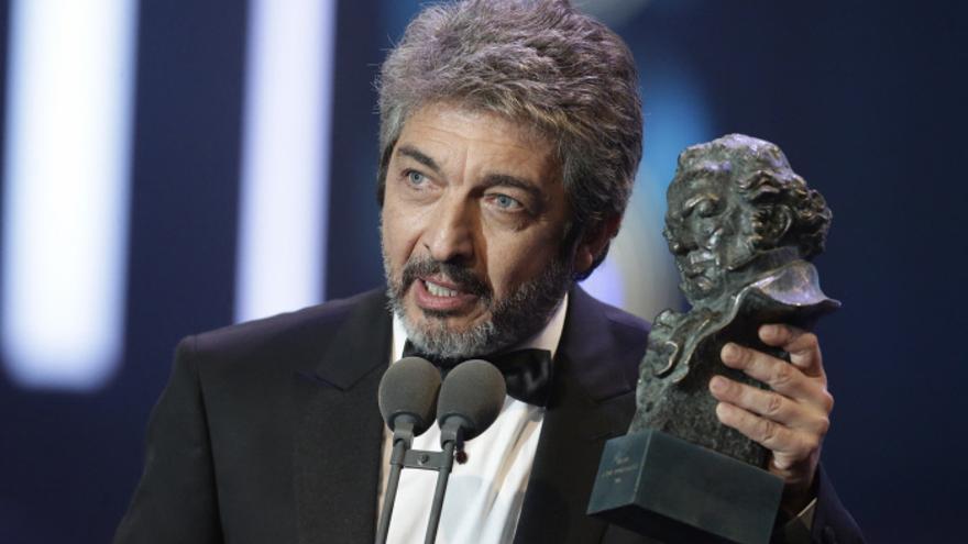 Ricardo Darín recoge su Goya al Mejor Actor Principal