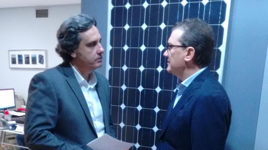 Martínez-Aroca, de ANPIER, se ha reunido con Miguel Garaulet, candidato de C's al Congreso