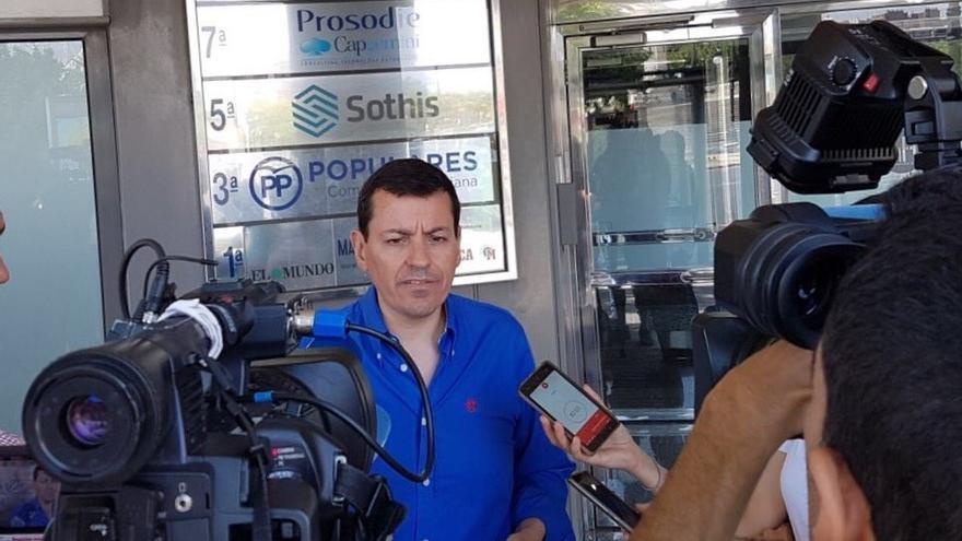 """Bayo denuncia una """"mano negra"""" en Génova tras rechazar su candidatura y sopesa demandar al partido"""