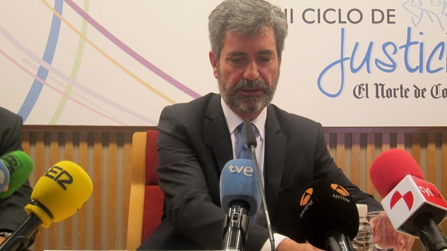"""El presidente del CGPJ ve innegable que """"hubo algo parecido a una consulta"""" pese a que el TC declaró su suspensión"""