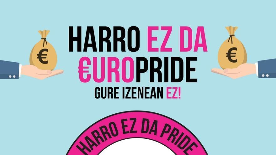 La Plataforma HARRO convoca una movilización en contra de las asambleas organizativas del Europride 2022 que tendrán lugar este fin de semana en Bilbao