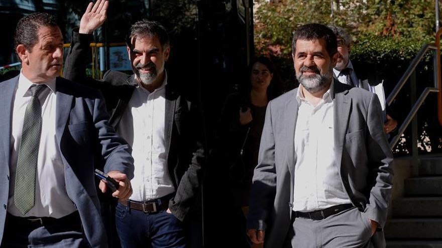 La Audiencia Nacional respalda que Lamela investigue por sedición a Sànchez y Cuixart