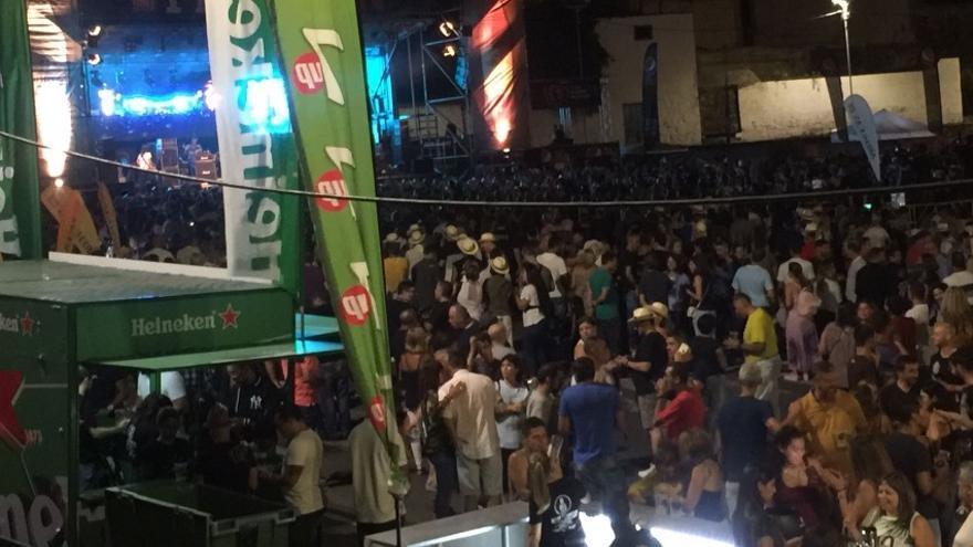 """El """"FiestoRon"""" 2017 reúne en Arucas a más de 10.000 personas."""