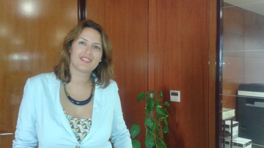 Silvia Padilla, consejera de Servicios Sociales del Cabildo de La Gomera