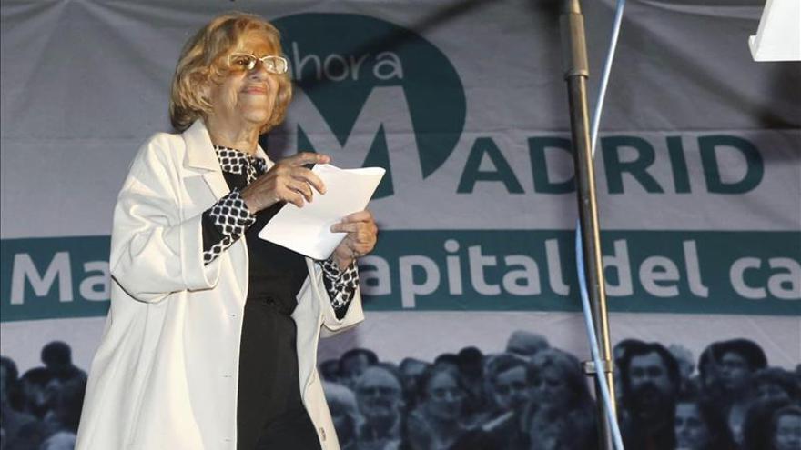 Manuela Carmena se reunirá la próxima semana con el presidente de Bankia