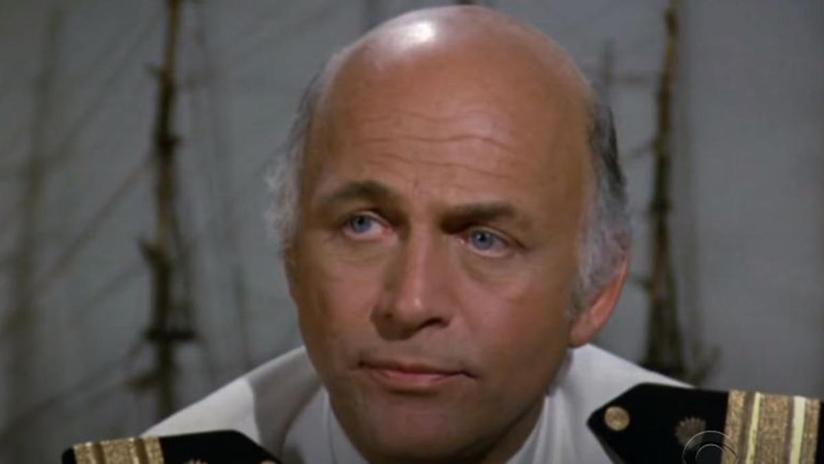 "Gavin MacLeod, el capitán de ""El crucero del amor"""