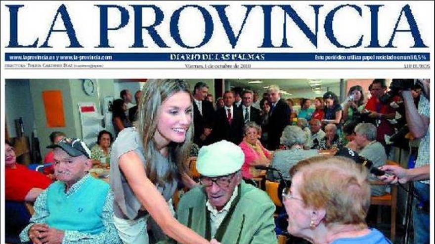De las portadas del día (01/10/2010) #3