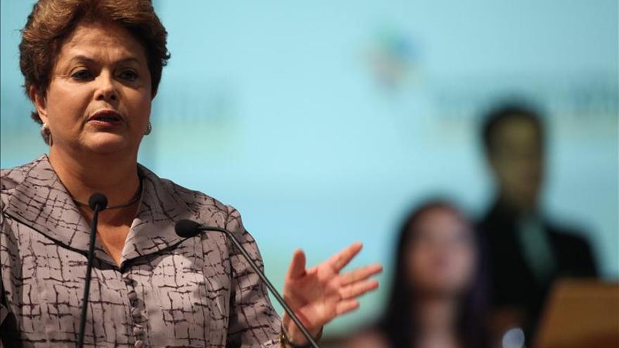 Rousseff se consolida como favorita para las elecciones del año próximo