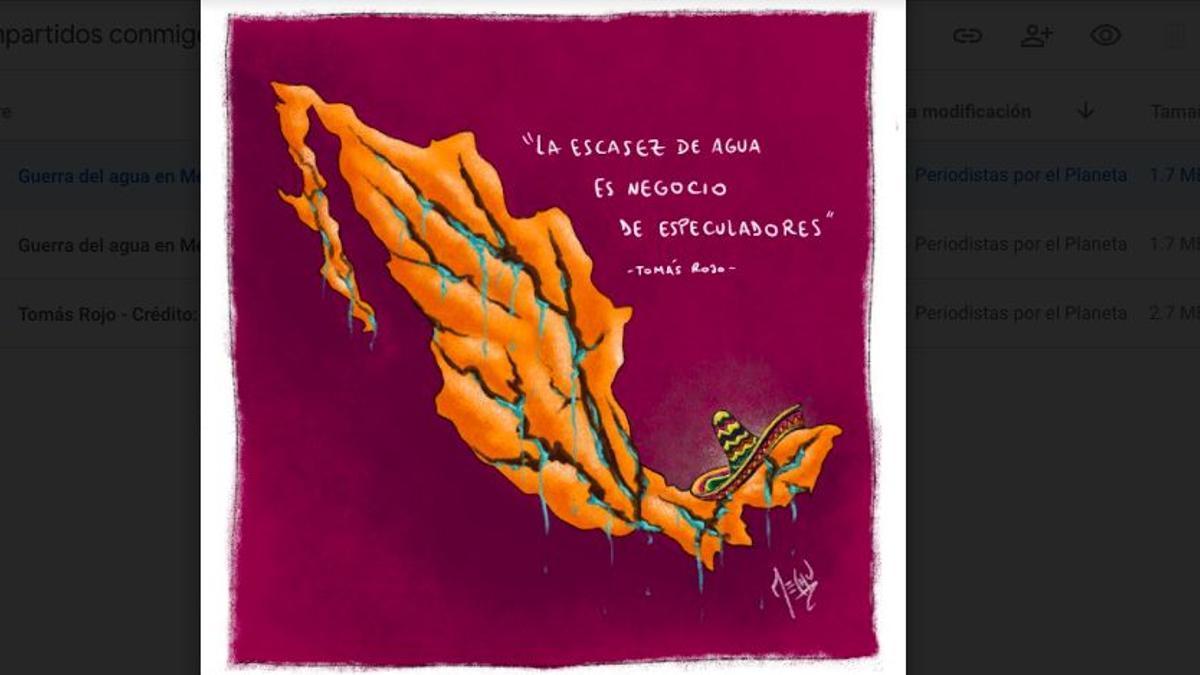 La lucha por el agua en México