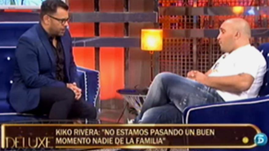 "'Sálvame Deluxe' rompe récord (21.4%) con la entrevista ""bomba"" a Kiko Rivera"