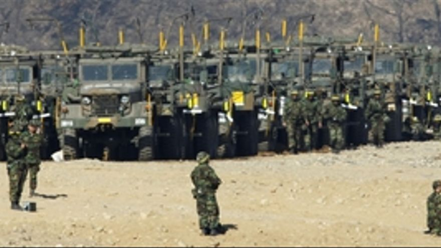 Maniobras del Ejército de Corea del Sur