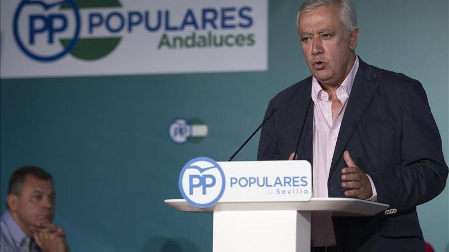 """Arenas renuncia a su acta de diputado andaluz para """"centrarse"""" en el Senado"""