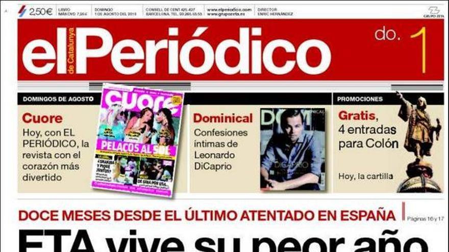 De las portadas del día (01/08/2010) #9