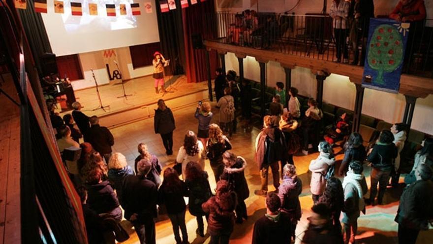 Teatro del IES Sefarad de Toledo