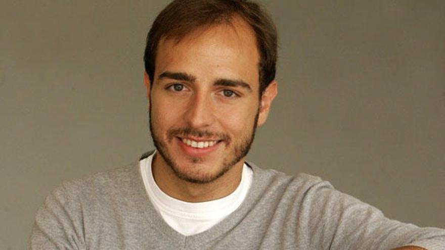 El secretario general de Nuevas Generaciones, Javier Dorado