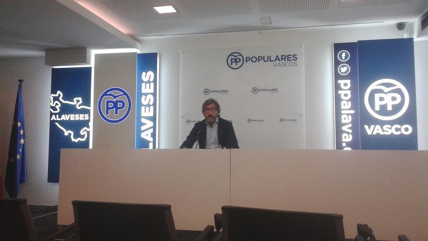 """El PP mantendrá un diálogo """"fluido"""" con el PNV pese a que no haya estado """"a la altura"""" en los homenajes a Blanco"""