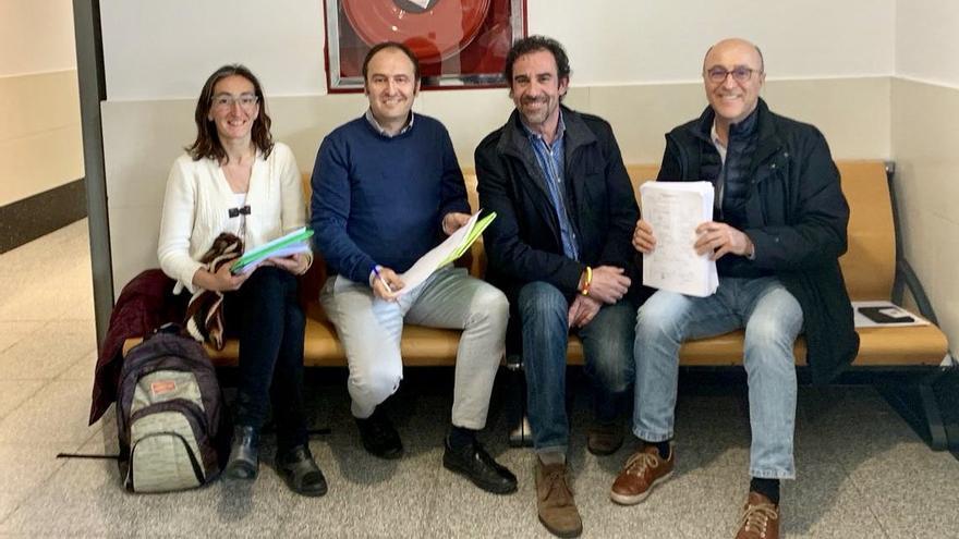 Presentación de las candidaturas de Vox en Navarra.