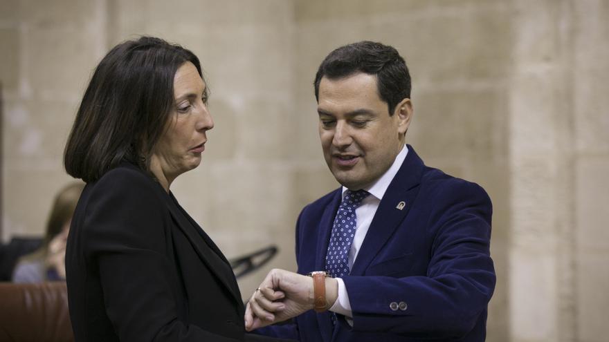 """PP-A elogia el """"compromiso de Moreno con el municipalismo"""" al dar el discurso de Navidad en Cumbres de Enmedio"""