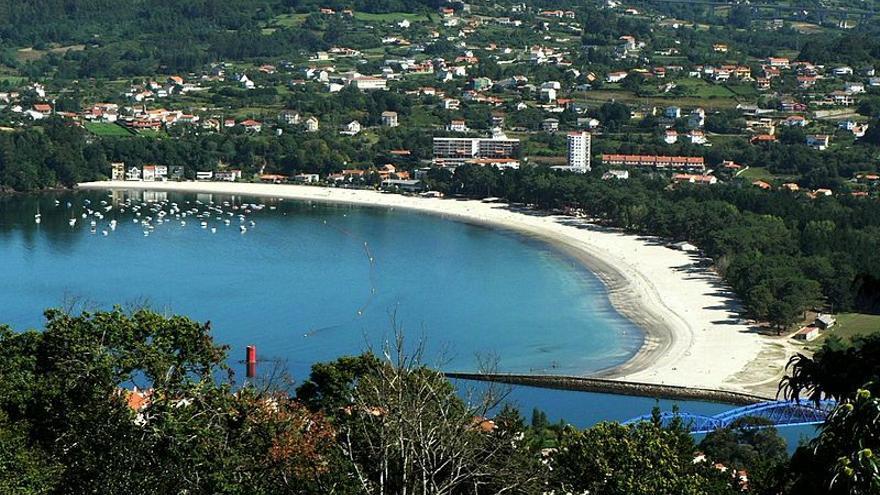 Imagen aérea del Concello de Cabanas