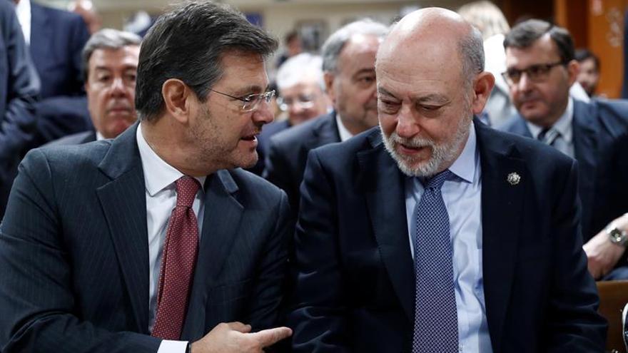 Rafael Catalá y José Manuel Maza.
