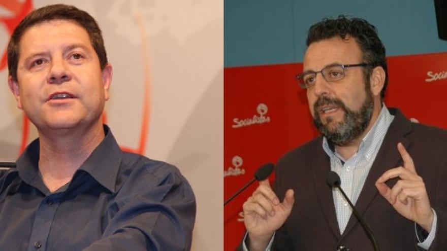 Emiliano García-Page y José Luis Blanco (PSOE Castilla-La Mancha)