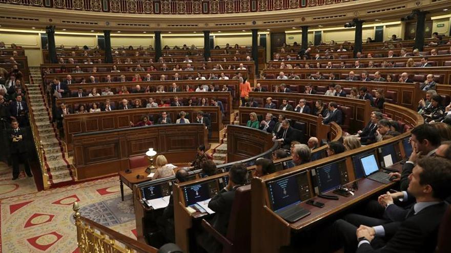 El Congreso aprueba flexibilizar la senda de déficit con apoyos de ERC y PDeCAT