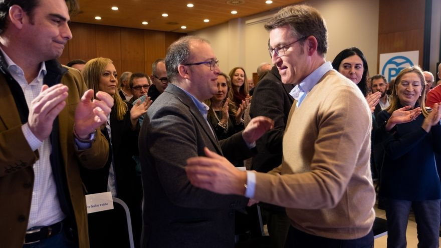 """Feijóo afirma tener """"más ilusión"""" y """"más ganas que nunca"""" por seguir trabajando por Galicia"""