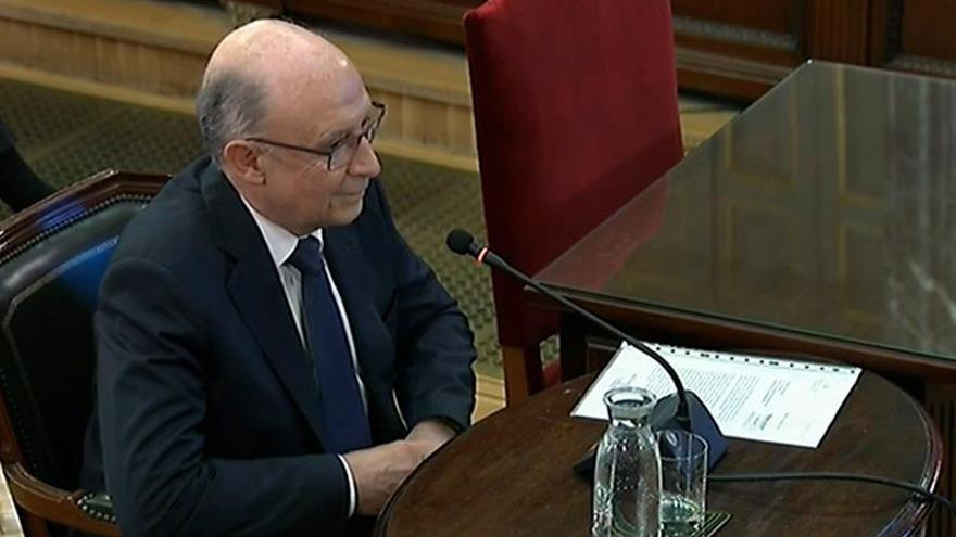 Montoro admite que se pudo defraudar pese al control financiero de Cataluña