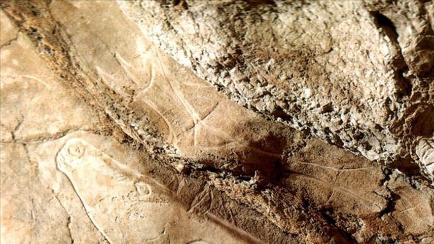 Las pinturas de la cueva vizcaína de Askondo datan de hace 23.800 años