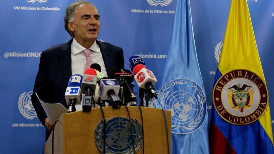 La ONU espera tener en los próximos días las primeras 1.000 armas de las FARC