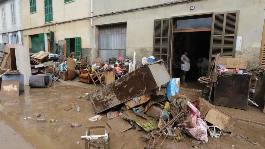 """El Parlament insta al Gobierno a pagar """"de forma inmediata"""" las ayudas municipales por las inundaciones de Sant Llorenç"""