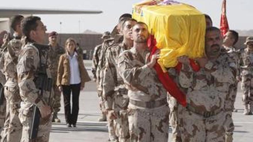 Cabo español asesinado en Afganistán
