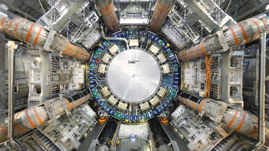 Imagen del Gran Colisionador de Hadrones del Laboratorio Europeo de Física de Partículas