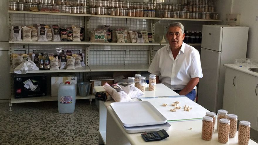 El presidente de la cooperativa 'Campo de Tejada', José Ortega.