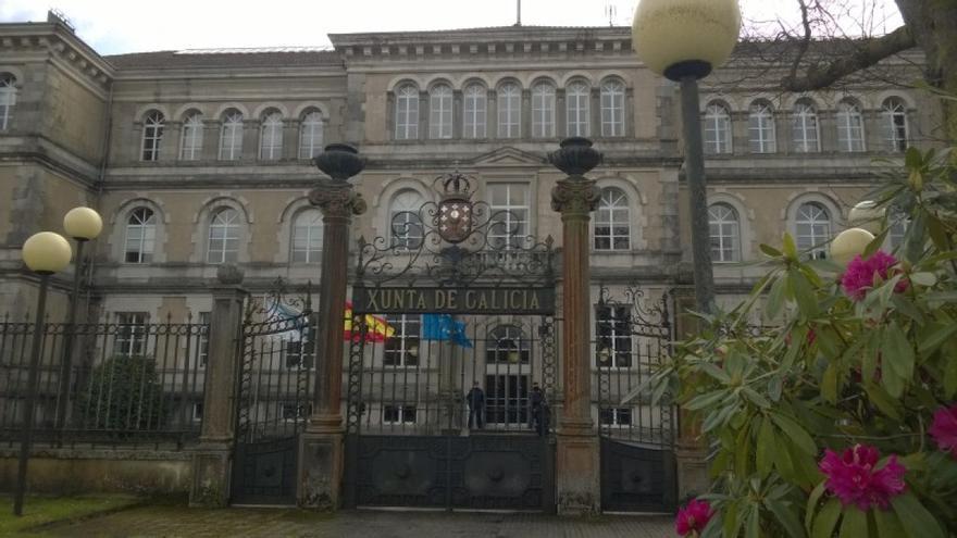 San Caetano, sede central de la Xunta