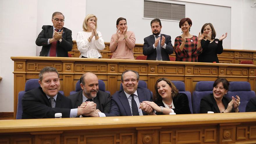 Pleno en las Cortes de Castilla-La Mancha para la aprobación de los Presupuestos 2020