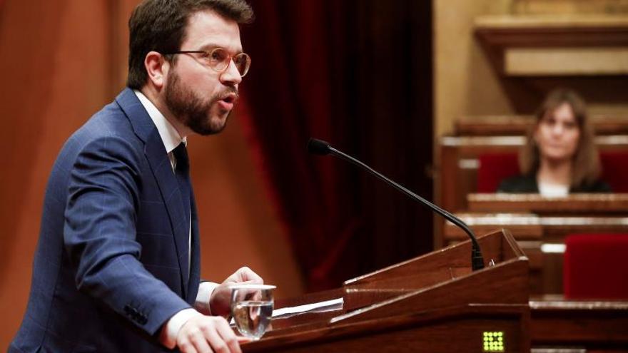 Aragonès no irá a Consejo Política Fiscal y delegará en la secretaria de Economía