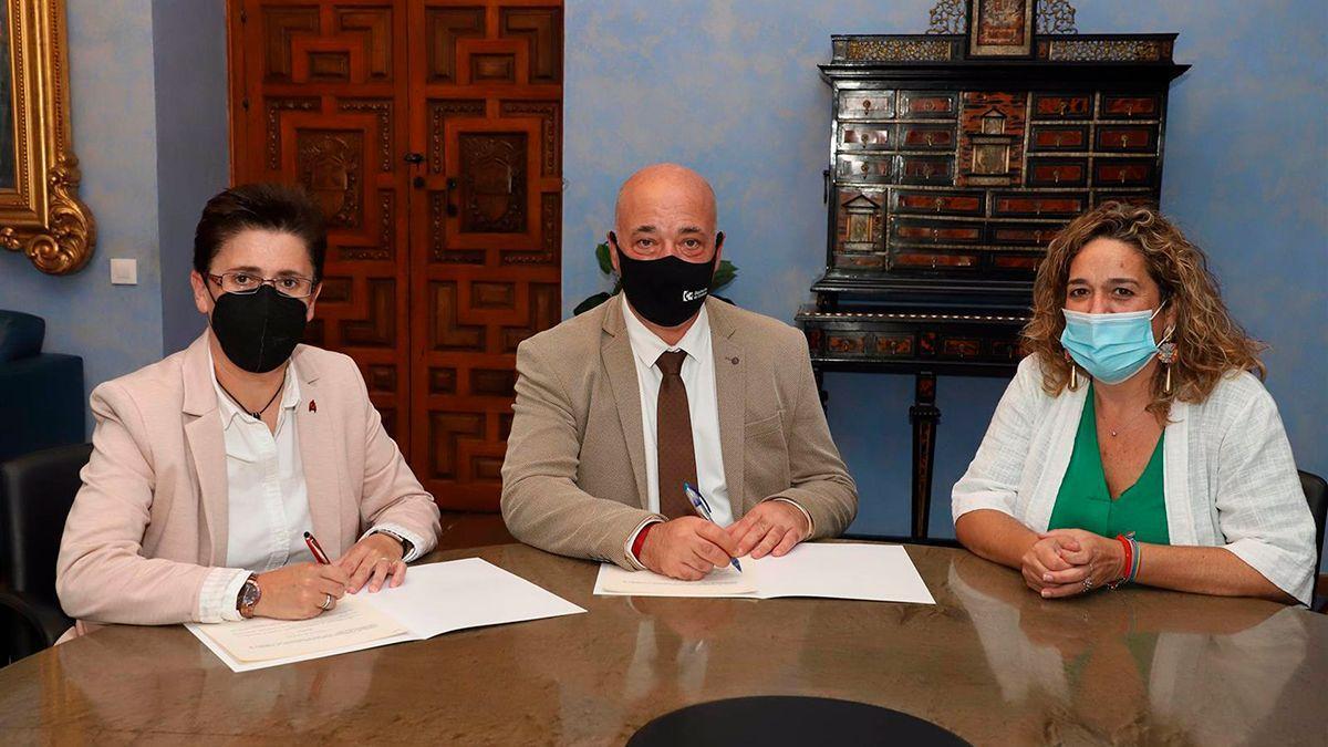 Acuerdo entre la Diputación y el Ayuntamiento de Fuente Tójar.