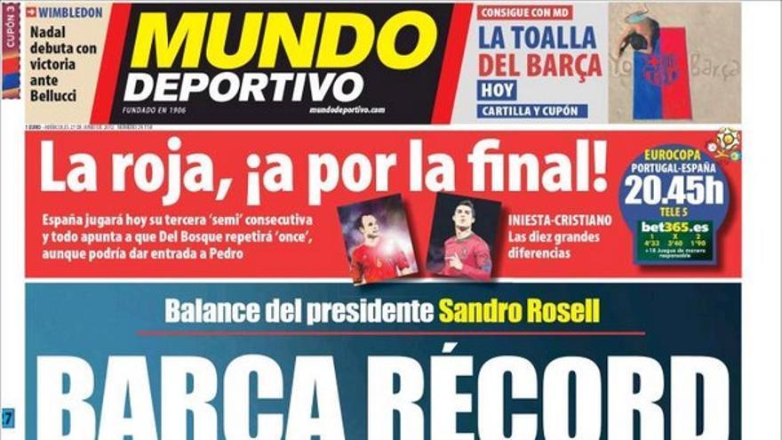 De las portadas del día (27/06/2012) #14
