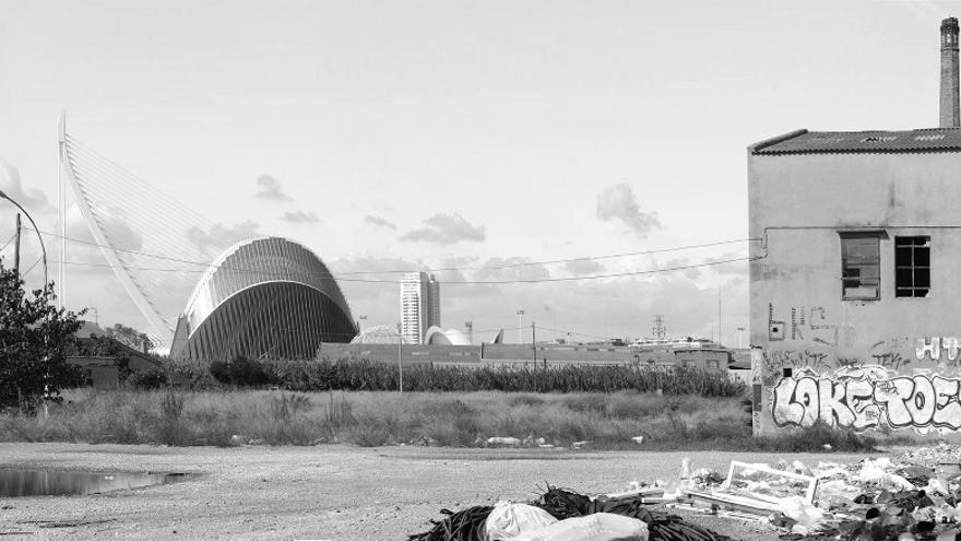 Valencia, con la Ciudad de las Artes y las Ciencias al fondo
