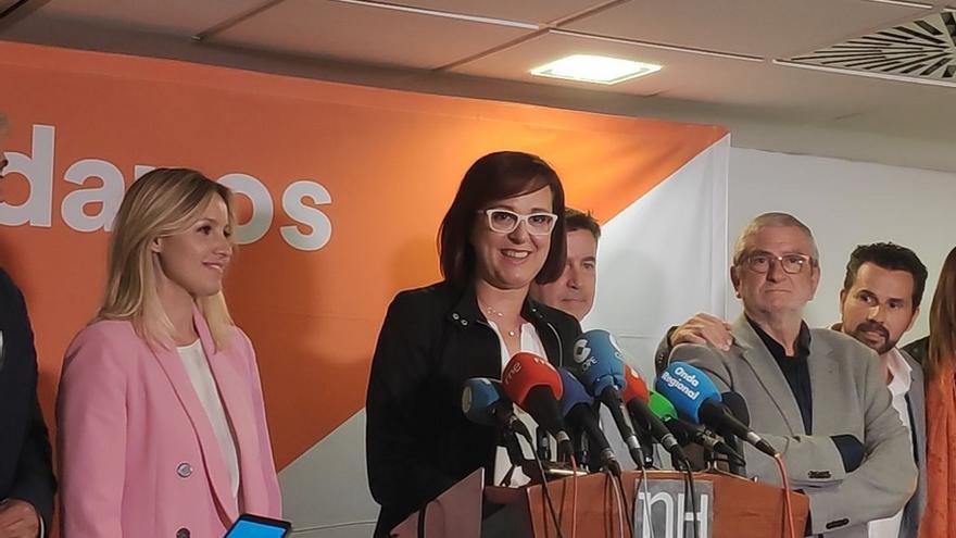 Isabel Franco, candidata a la presidencia de Murcia por Ciudadanos,