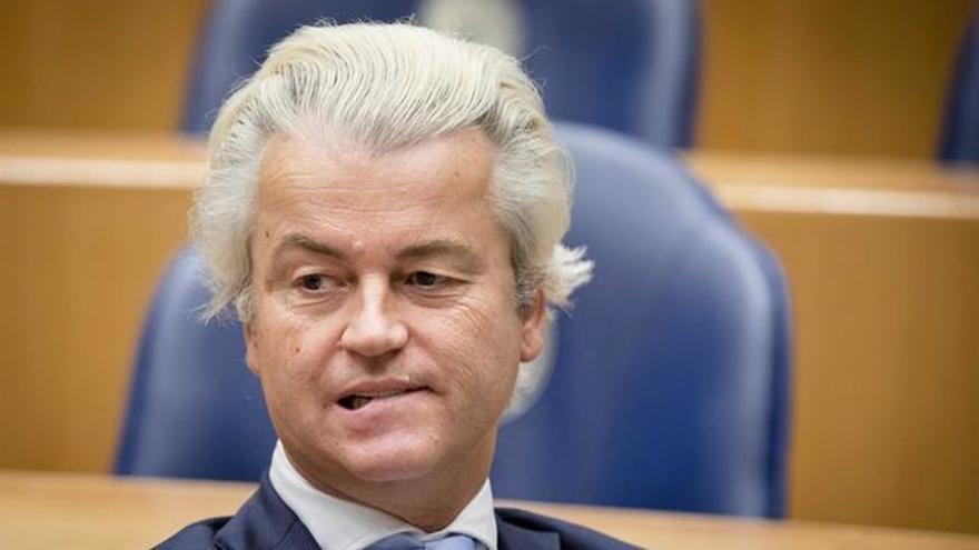 Geert Wilders, líder de la ultraderecha en Holanda