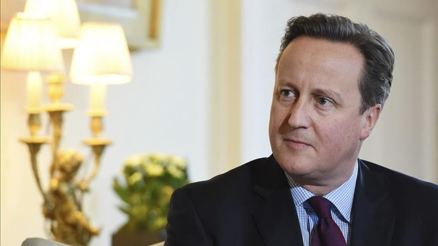 """Cameron cree que la salida del Reino Unido de la UE """"no es la solución"""""""