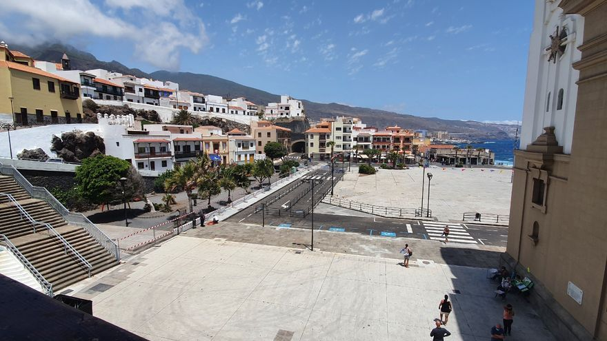 Jornada atípica en Candelaria, sin peregrinos y con cumplimiento de aforos