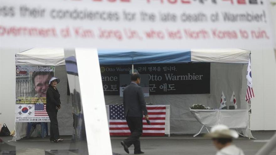 El informe forense no aclara la causa de la muerte del estadounidense preso en Corea del Norte