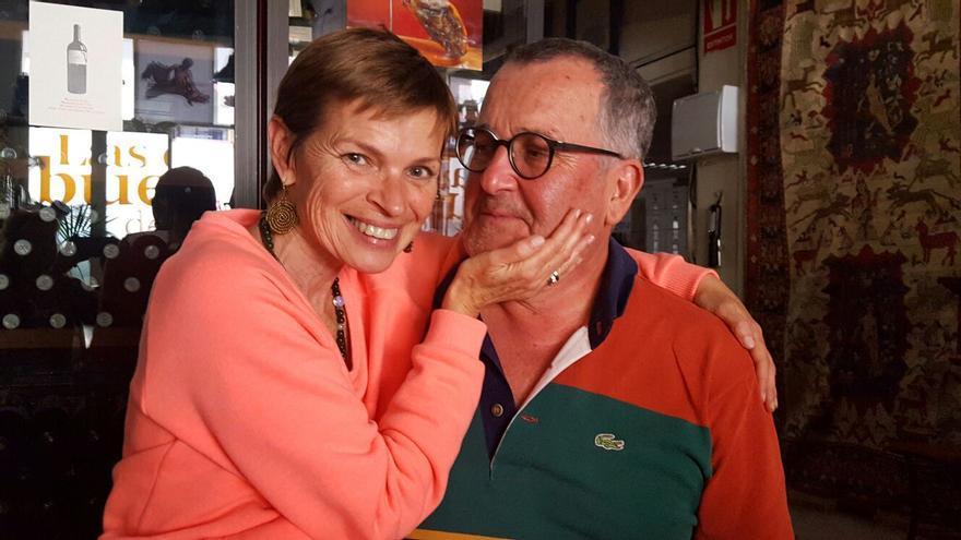 Teresa Correa y yo en Las Cosas Buenas de Miguel.