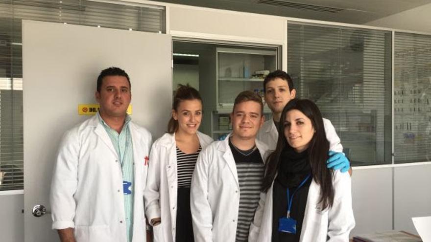 Científicos de la UGR.